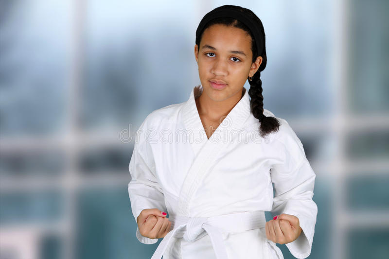 Download Karate stock photo. Image of fighting, minority, teenage - 26226316