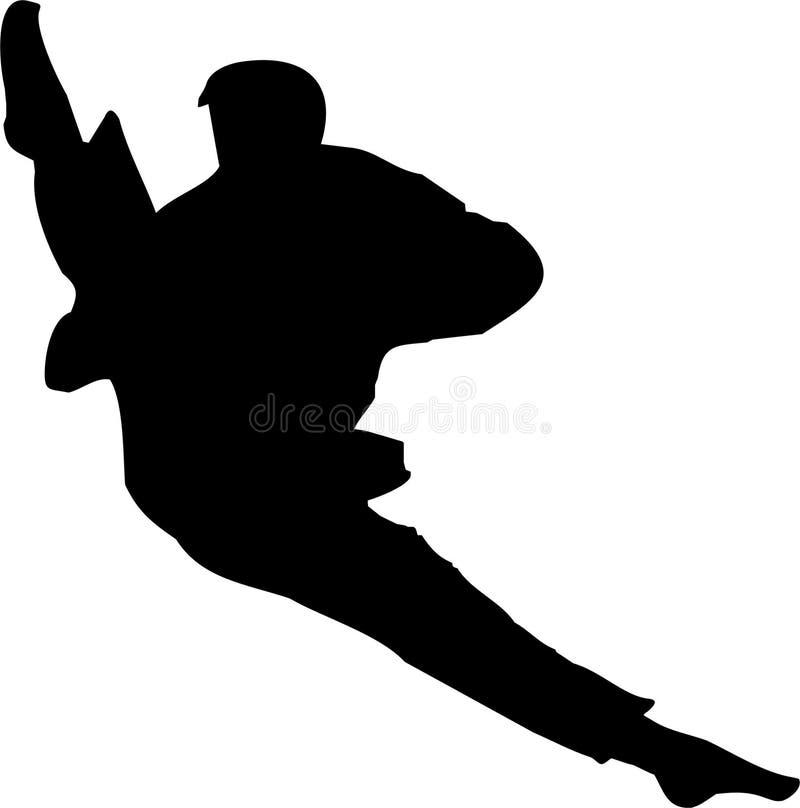 Download Karate 3 stock illustrationer. Illustration av athenen - 277582