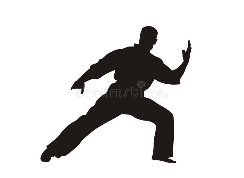 karate απεικόνιση αποθεμάτων
