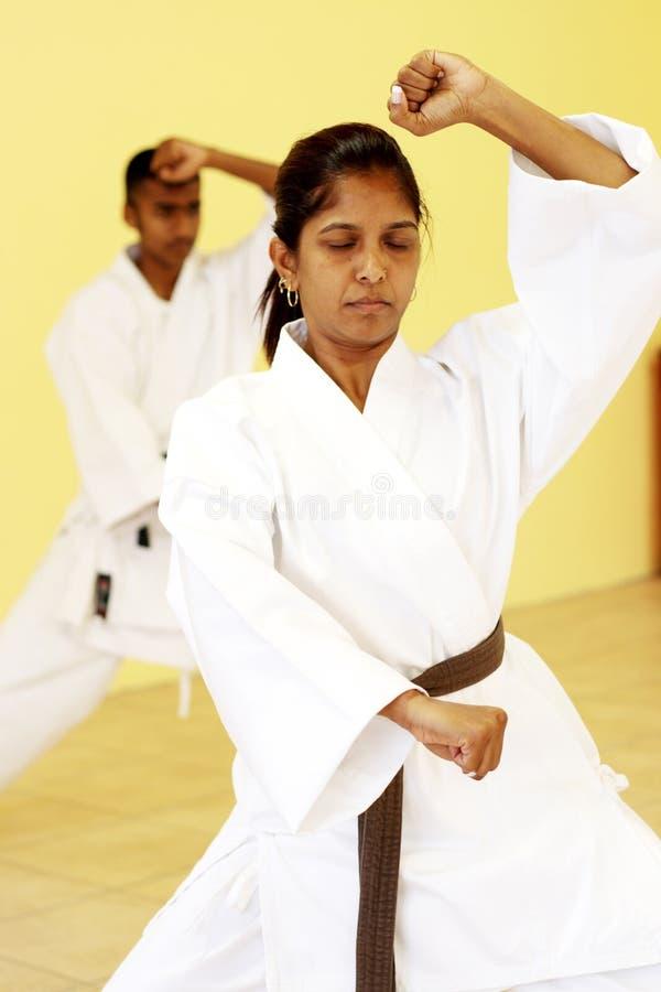 Karate lizenzfreies stockfoto