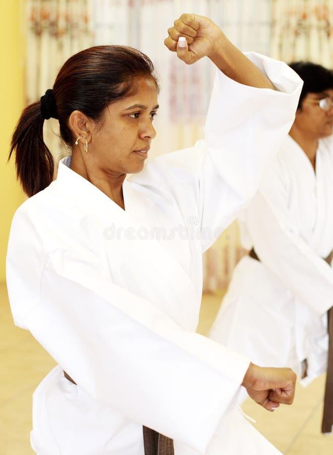 Karate lizenzfreie stockbilder