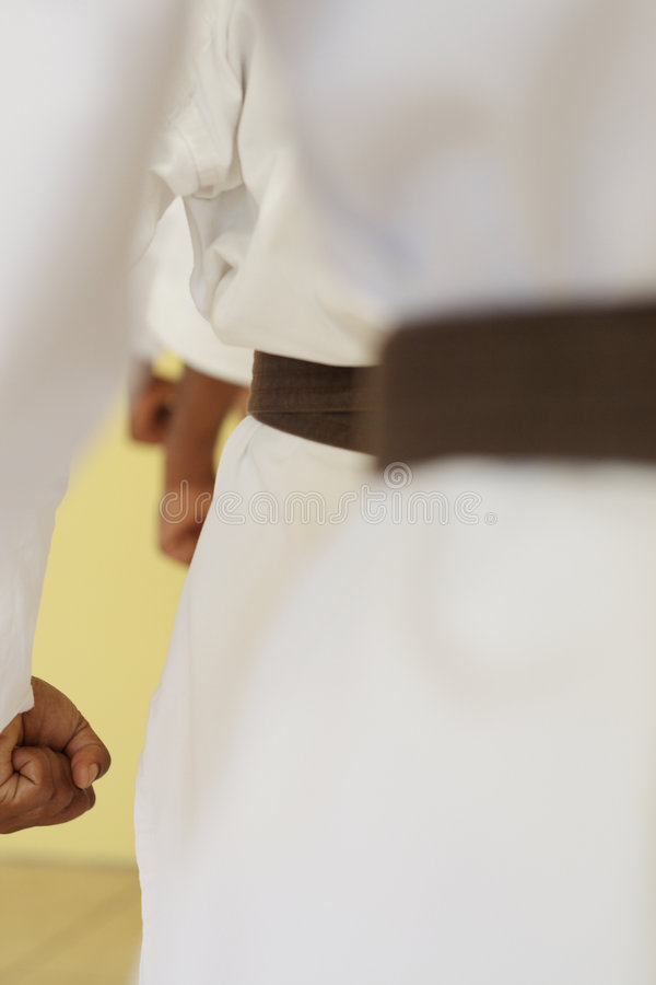Karate stock photography