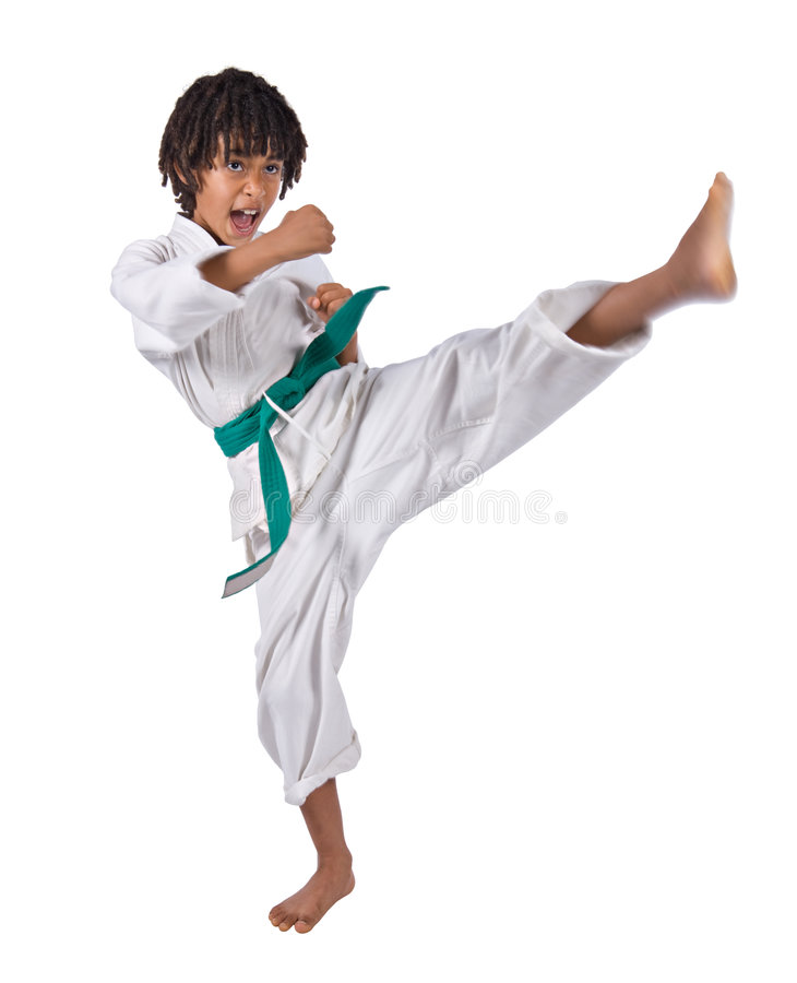 Karate stockfotografie