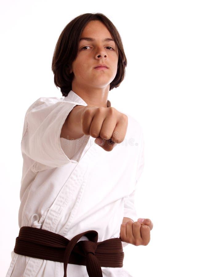 Karate royalty-vrije stock afbeeldingen