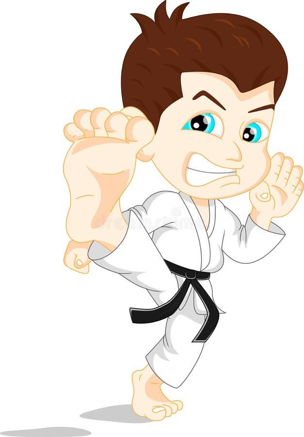 Karate Boy Cartoon Stock Vector - Image: 64407835