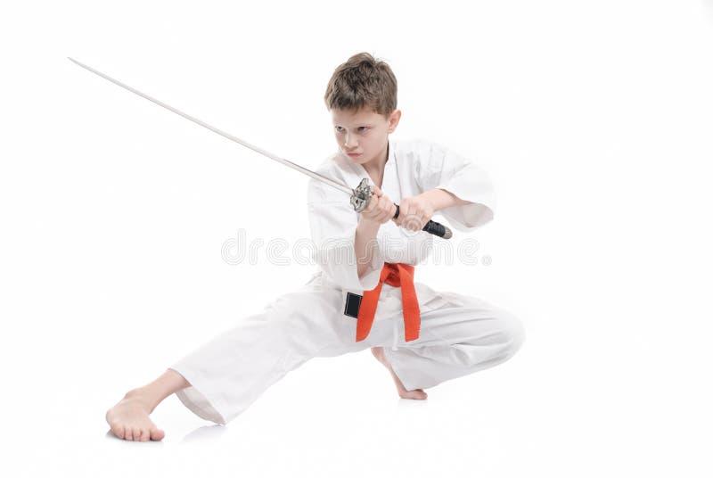 karate dzieciak obrazy royalty free