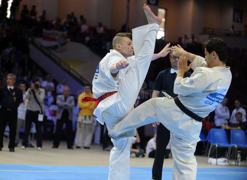 Karate European Championship stock photo