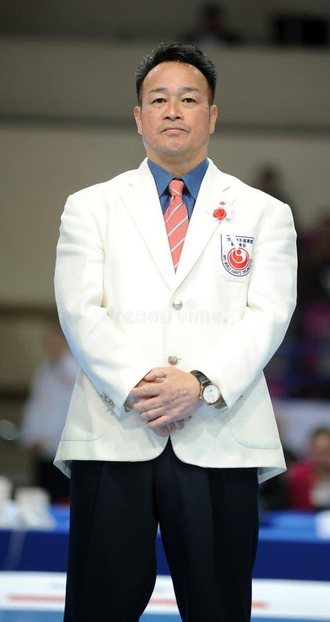 Karate European Championship royalty free stock images