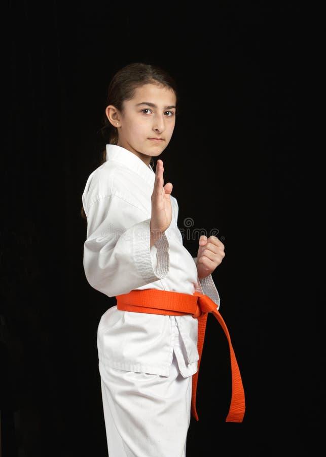 Download Karate girl stock image. Image of dojo, karate, girl - 18503891