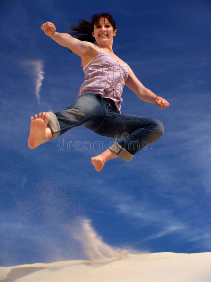 Download Karate Girl stock photo. Image of bare, athletic, attack - 456432
