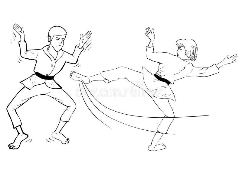 Download Karate Kick Stock Photos - Image: 22532793