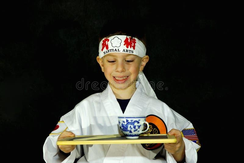 Karate Kid 2 royalty free stock image