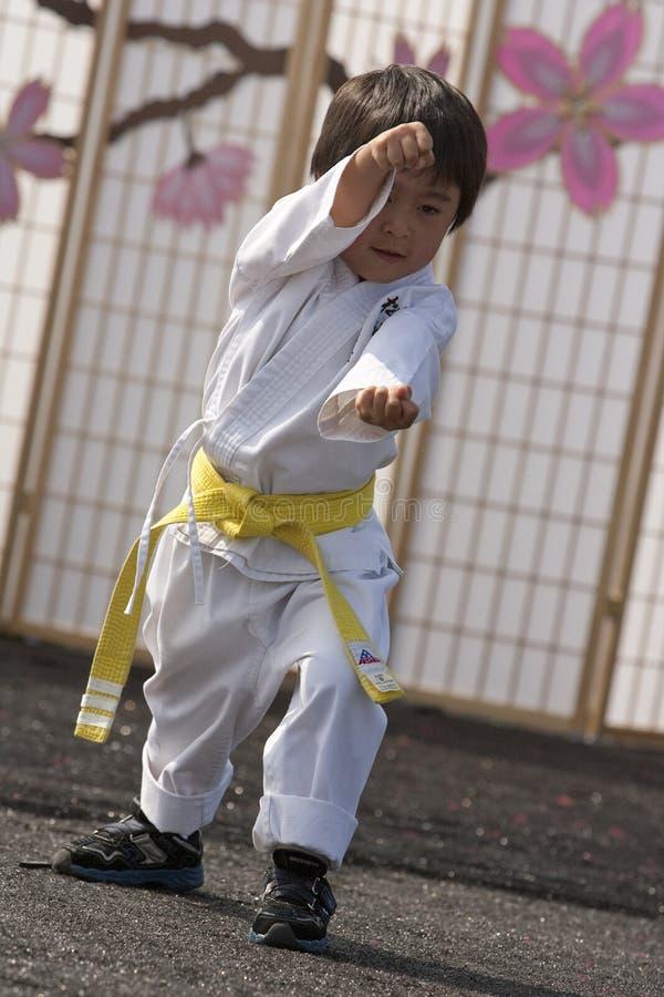 Karate Kid stock afbeeldingen