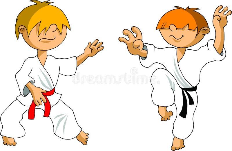 Download Karate kid stock vector. Image of combative, martial - 22864742