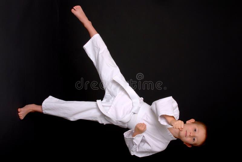 Karate Kid royalty-vrije stock fotografie
