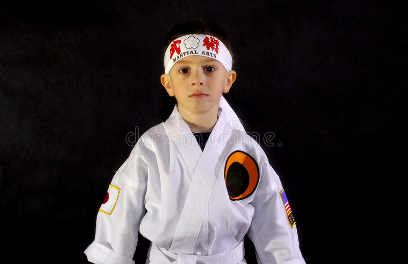 Karate Kid photographie stock