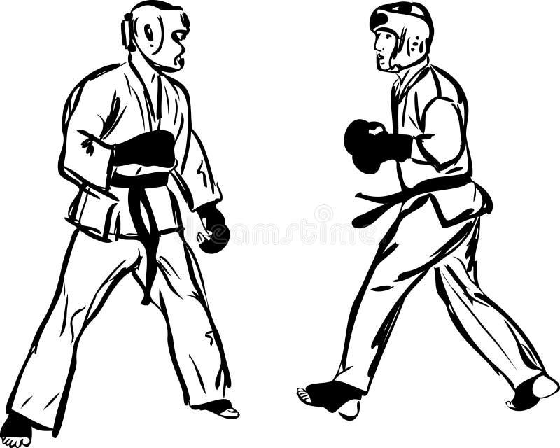 Karate Kyokushinkai  Martial Arts  Sports Royalty Free Stock Photos