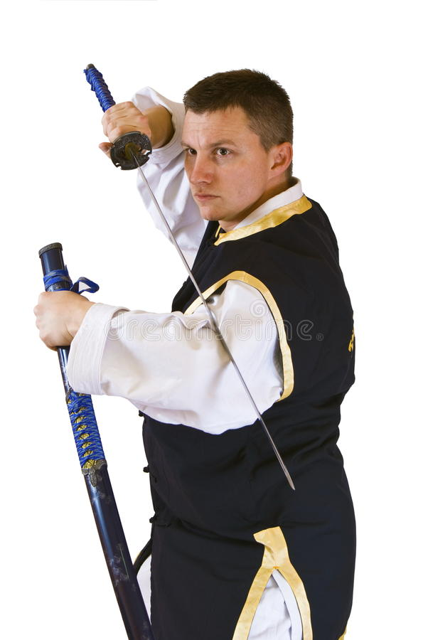 Karate-Männer stockfotos