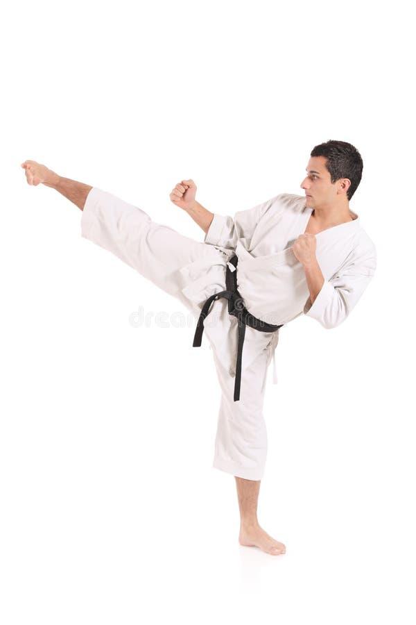 Free Karate Man Exercising Stock Photo - 7790610