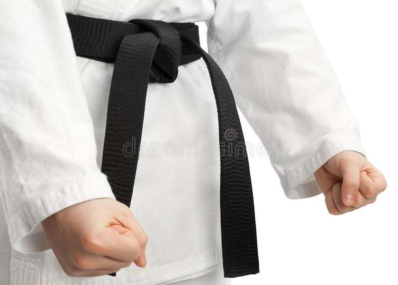 karate postawa obrazy stock