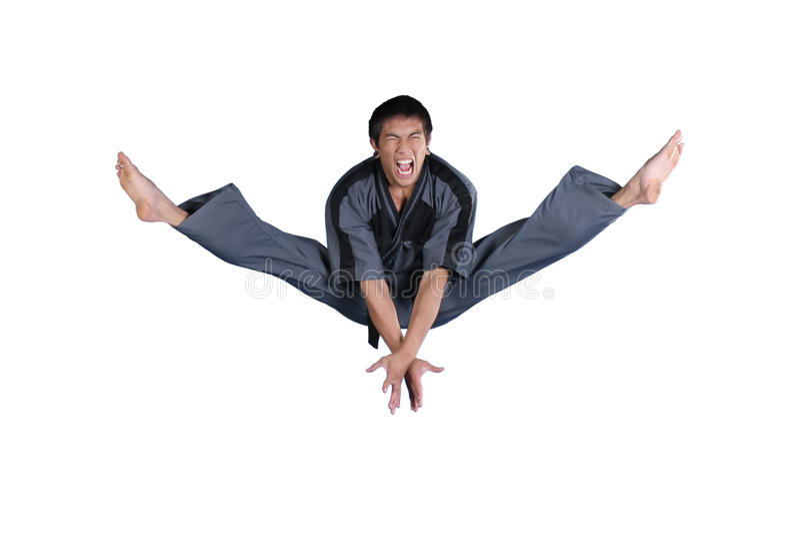 karate sport fotografia stock