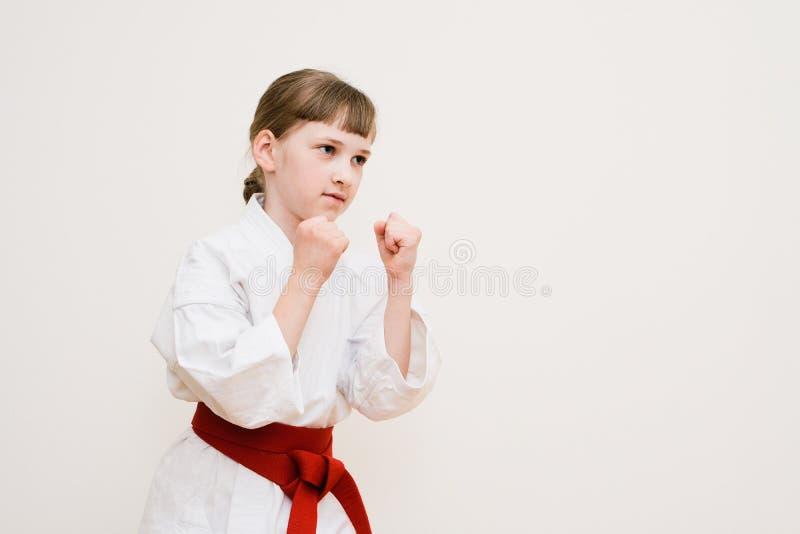 Karate szkolenie fotografia royalty free