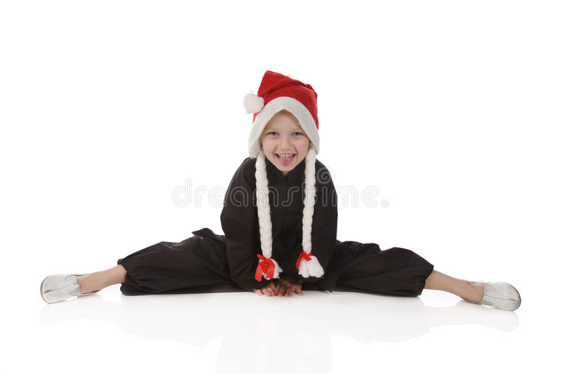 karateka κοριτσιών στοκ εικόνες