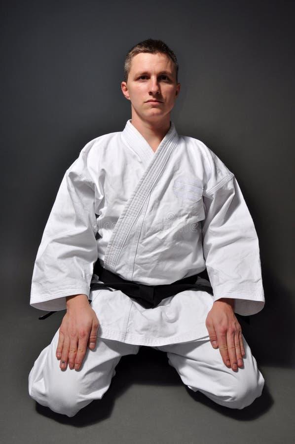 Karatemann stockbild