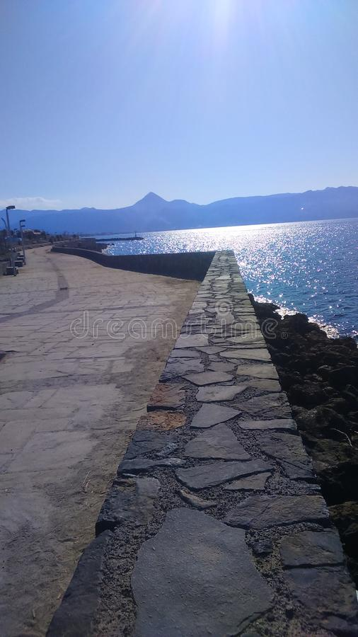 Karavolas, Heraklion, Creta, Grecia fotos de archivo