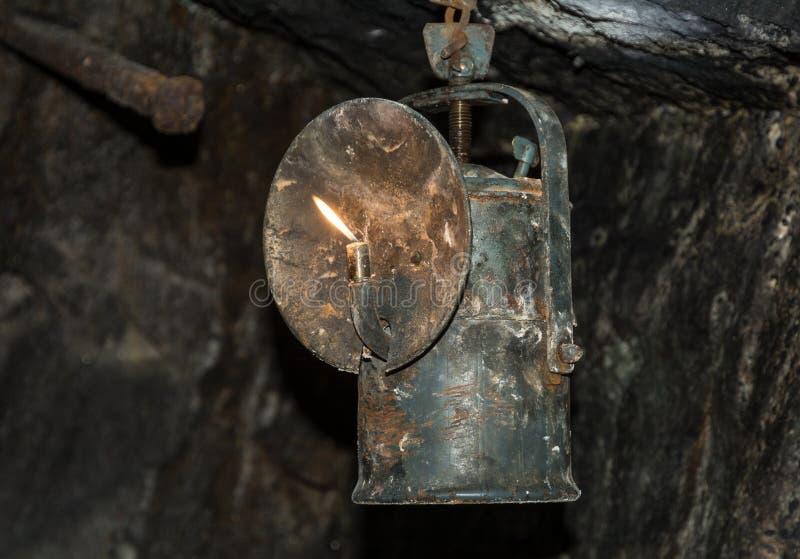 Karbidlampen oder Acetylengaslampen lizenzfreies stockfoto