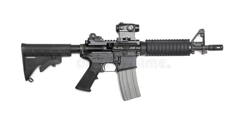 Karbin för AR-15 CQBR arkivbild