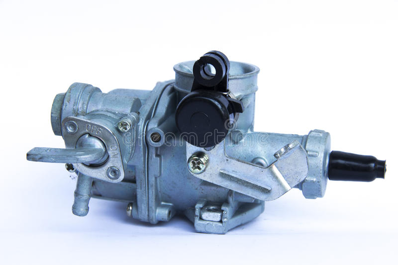 Karburator dla motocyklu fotografia stock