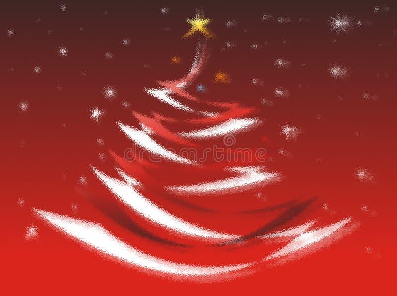 karciana bożych narodzeń koloru czerwień zdjęcia royalty free