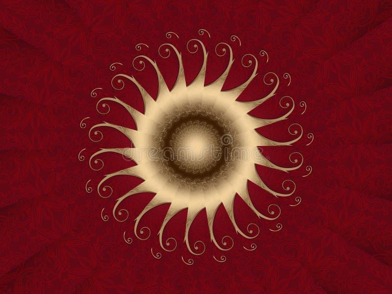karciana czerwień obrazy stock