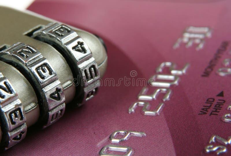 karciana kredytowa ochrona fotografia stock