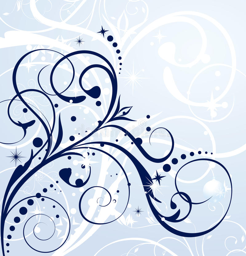 karciana zima ilustracji