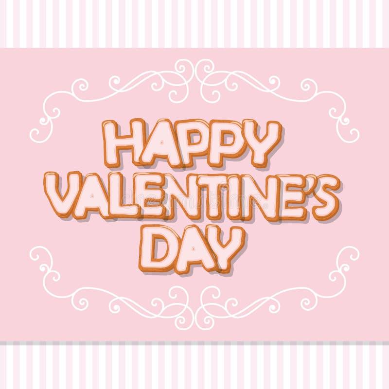 karcianego dzień szczęśliwi serca target283_0_ s dwa valentine Słodcy Listy Rocznik filigree rama Śliczny projekt w pastelowych m ilustracji