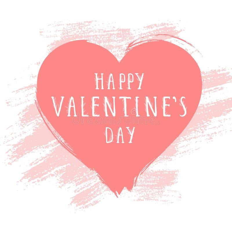 karcianego dzień szczęśliwi serca target283_0_ s dwa valentine 8 tło eps kartoteki grunge serce zawierać royalty ilustracja