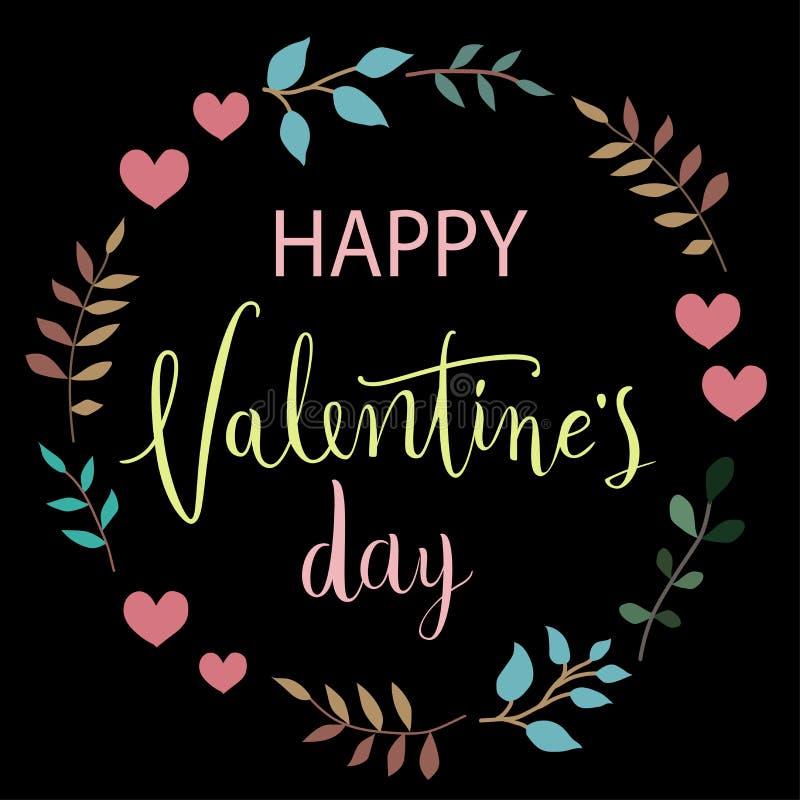 karcianego dzień szczęśliwi valentines Doskonalić dla wakacje Płaski elegancki projekt również zwrócić corel ilustracji wektora obrazy royalty free