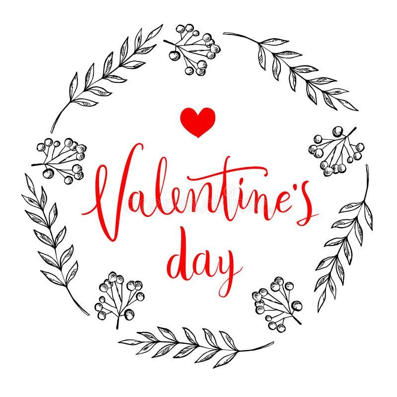 karcianego dzień szczęśliwi valentines Doskonalić dla wakacje Płaski elegancki projekt również zwrócić corel ilustracji wektora obraz stock