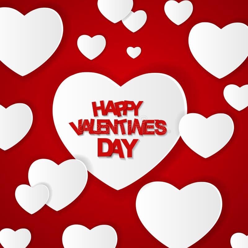 karcianego dzień szczęśliwi valentines również zwrócić corel ilustracji wektora royalty ilustracja