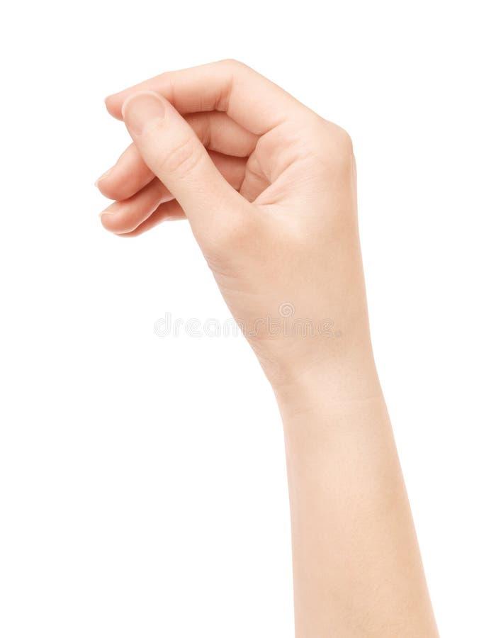 karcianego ręki chwyta odosobniony wirtualny zdjęcia royalty free