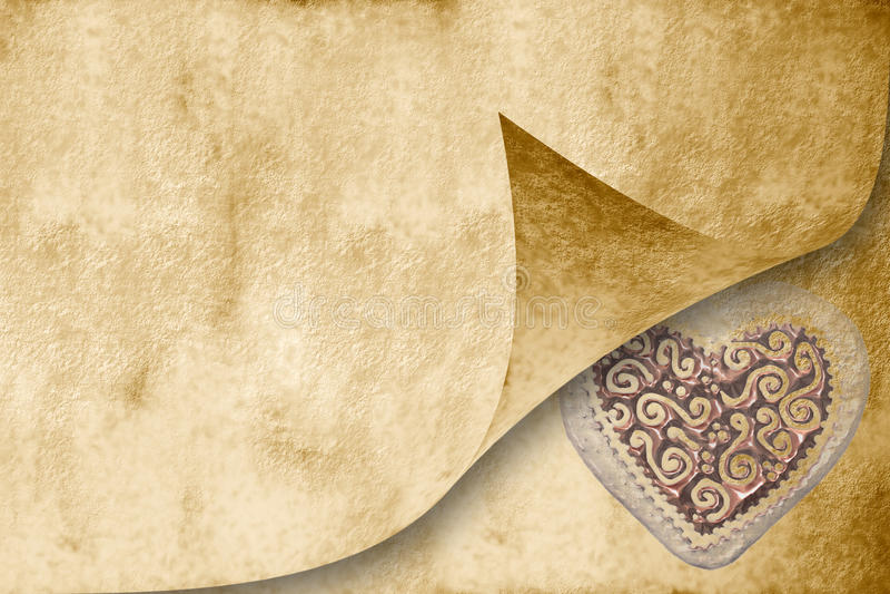 karcianego zaproszenia sepiowy brzmienia ślub fotografia royalty free