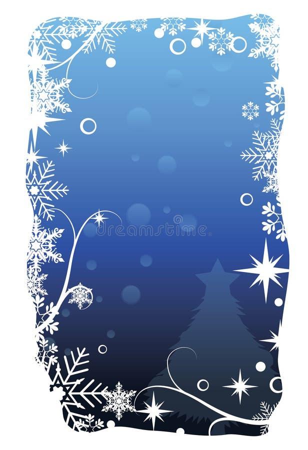 karciani błękit boże narodzenia ilustracji