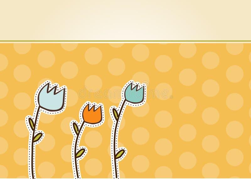 karciani kwiaty dziękować ty ilustracji