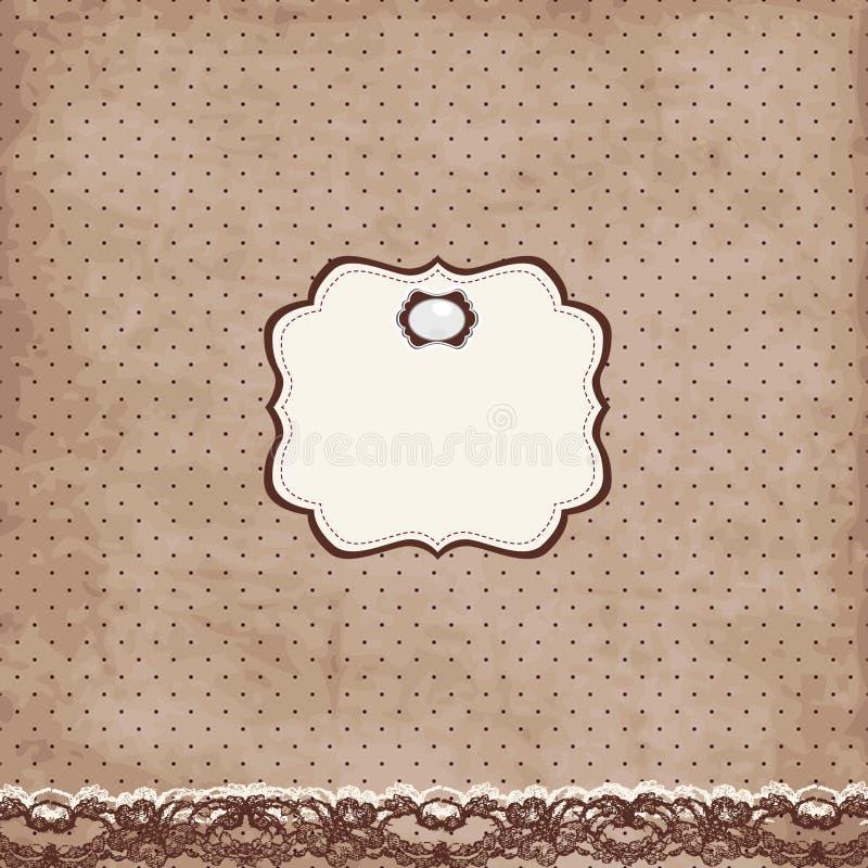 karciany broszka rocznik ilustracji