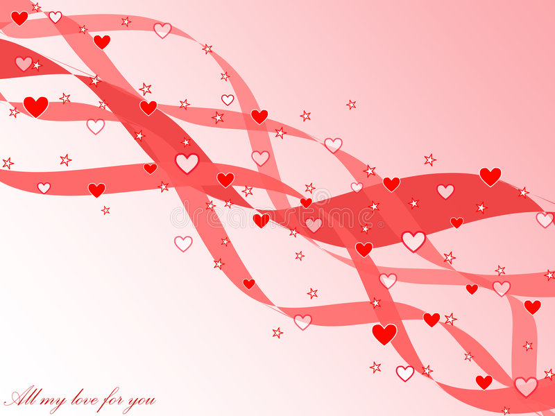 karciany dzień s st valentine ilustracja wektor