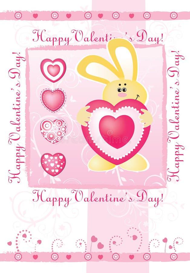 karciany dzień s valentine wektor ilustracja wektor