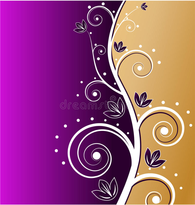 karciany elegancki złoto royalty ilustracja