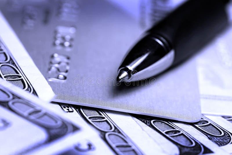karciany gotówkowy kredyt zdjęcia stock
